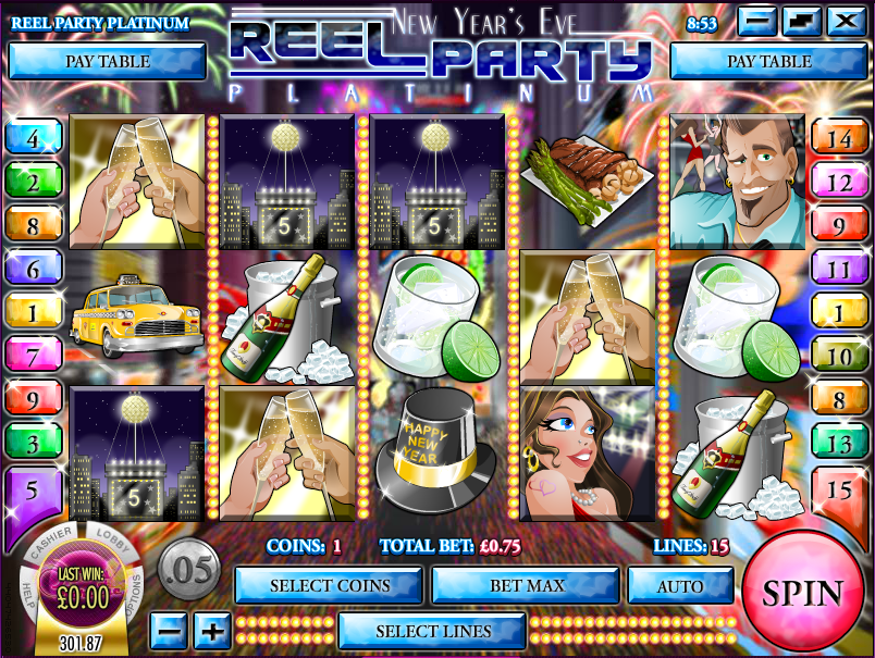 reel party platinum slot review