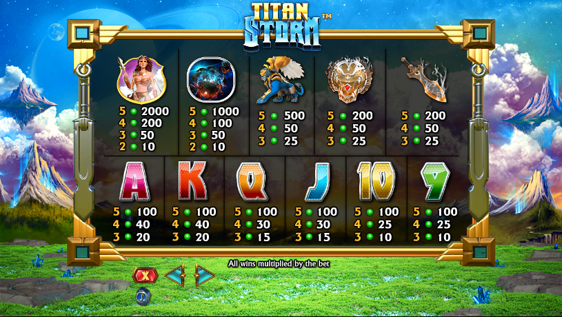 Spiele Titan Storm - Video Slots Online