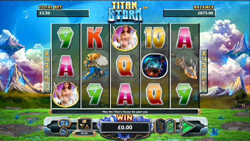 titan storm slot review