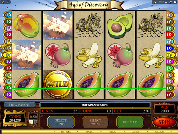 age of discovery slot
