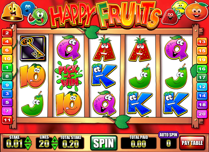 happy fruits slot
