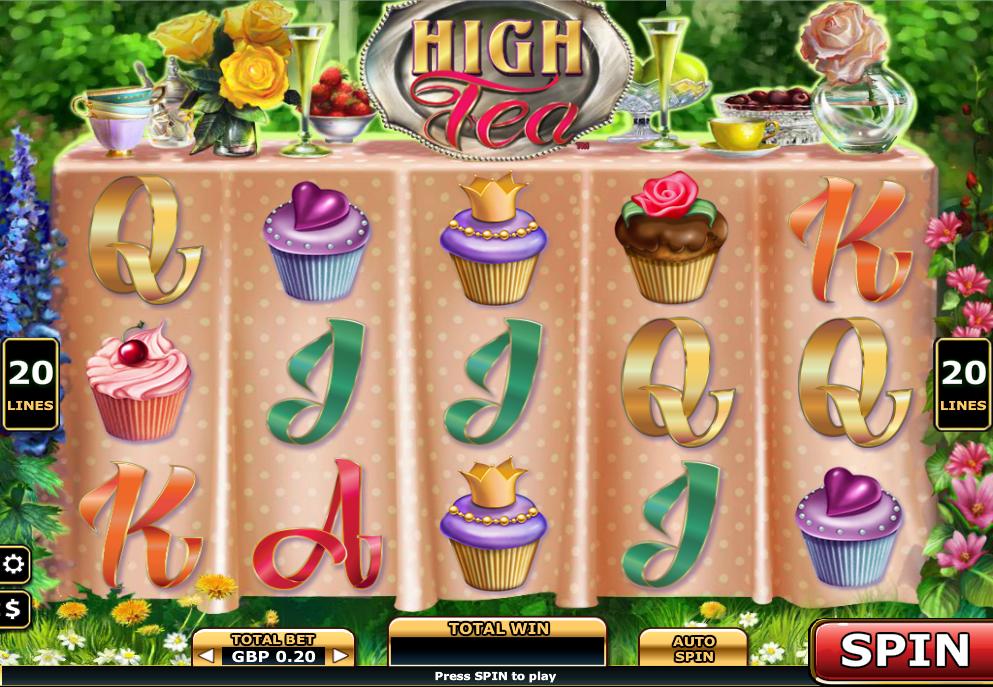 high tea slot