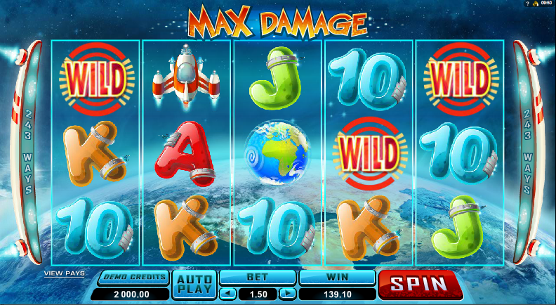 max damage screenshot