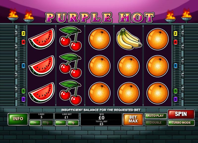 purple hot slot