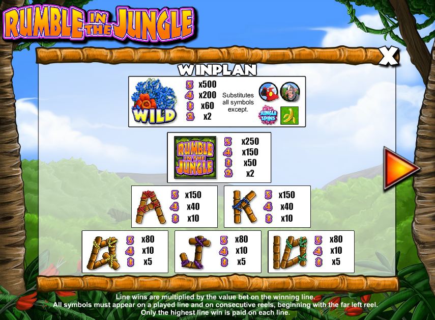 Rumble In The Jungle Slot - Play Online for Free Instantly