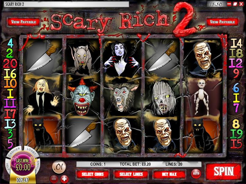 scary rich 2 slot