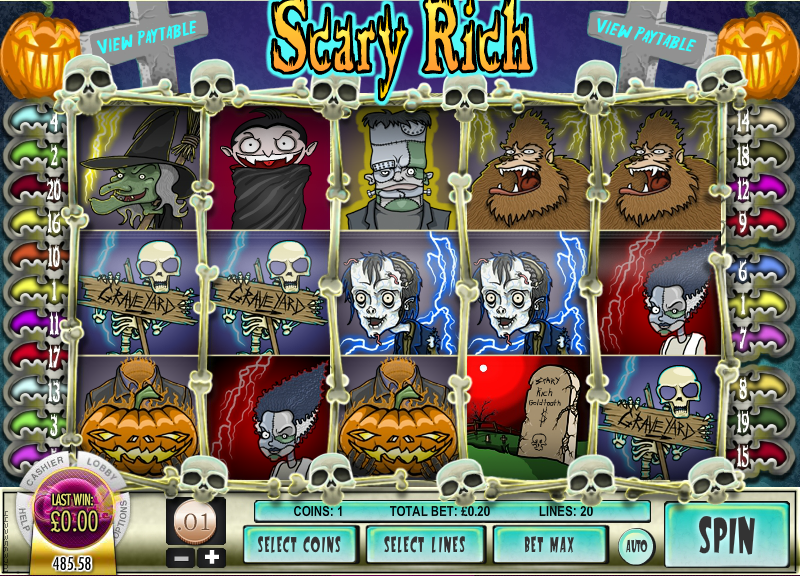 scary rich slot