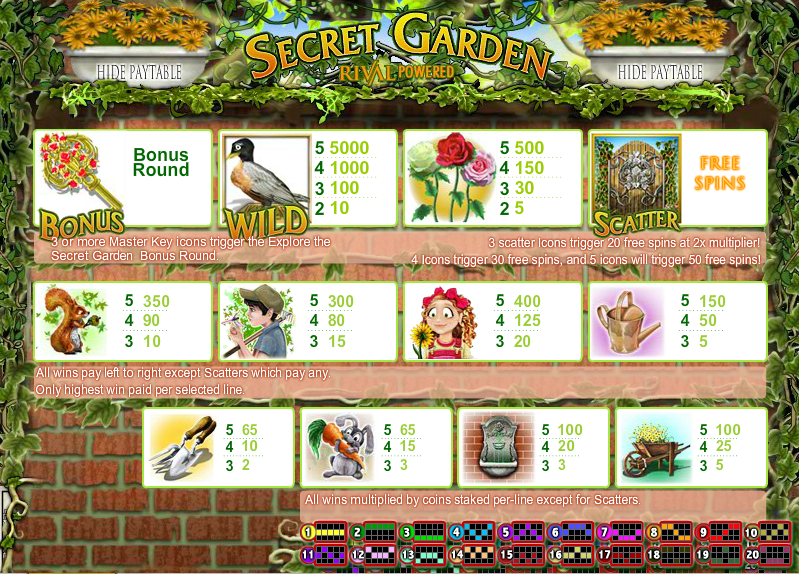 Sakura Garden Slots - Try it Online for Free or Real Money