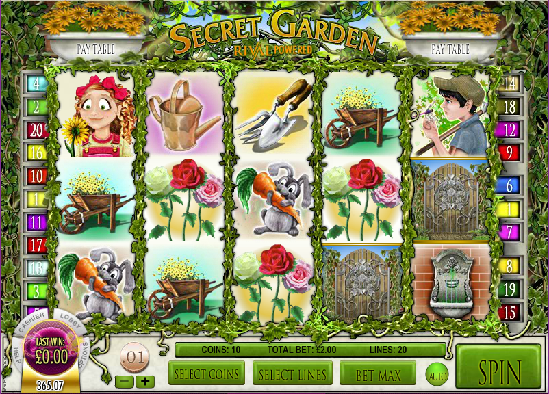 Secret Garden Slots - Play Now for Free or Real Money