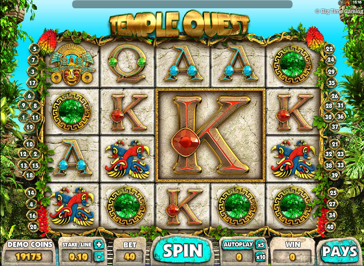 Up to £100 Bonus! Play Temple Quest Slot at Mr Green