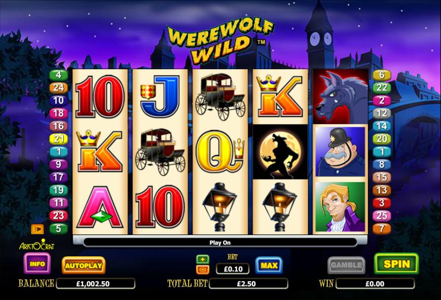 werewolf wild slot review
