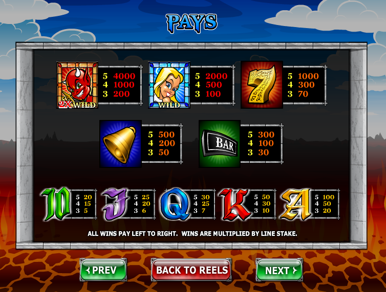 Angel or Devil Slot - Play Free Ash Gaming Games Online