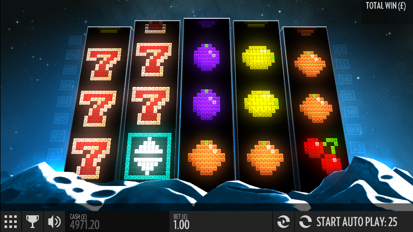 play arcader video slot from thunderkick