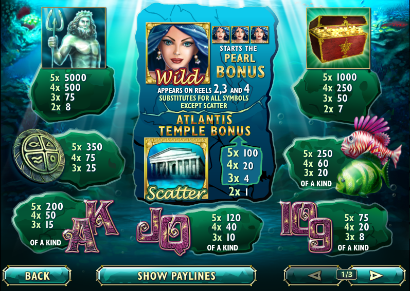 Lost Atlantis Slot - Play this iSoftBet Casino Game Online
