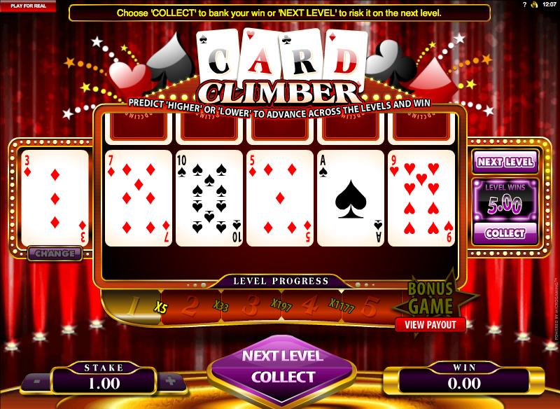 card climber slot