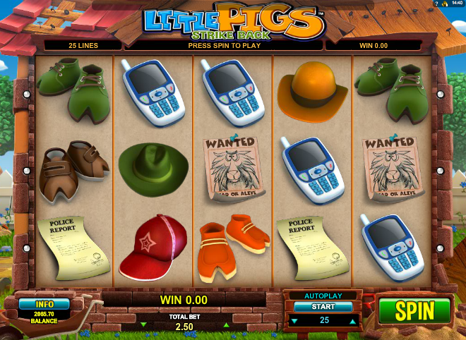 Little Pigs Strike Back Online Slot Review - Try Online Free