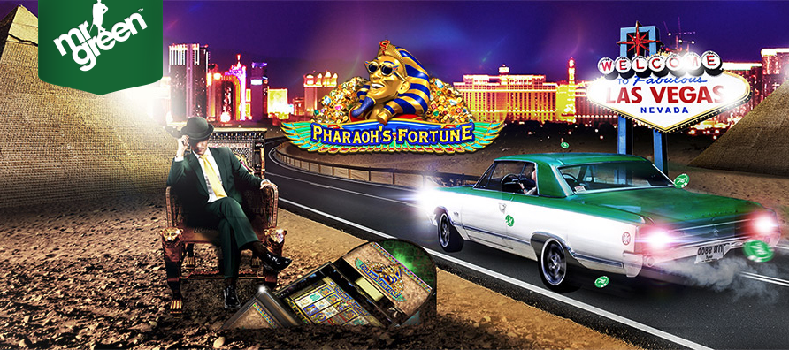 mr green pharaohs fortune