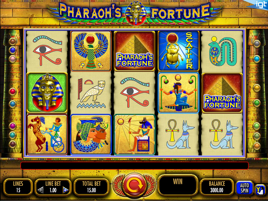 online casino review pharaoh s