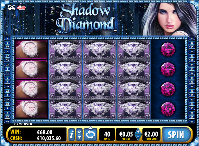 shadow diamond slot