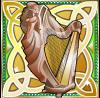 shamrock isle harp