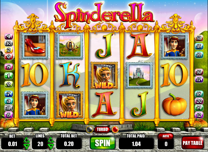 spinderella slot