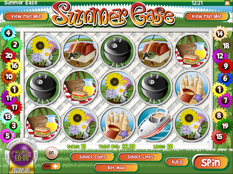 summer ease screenshot