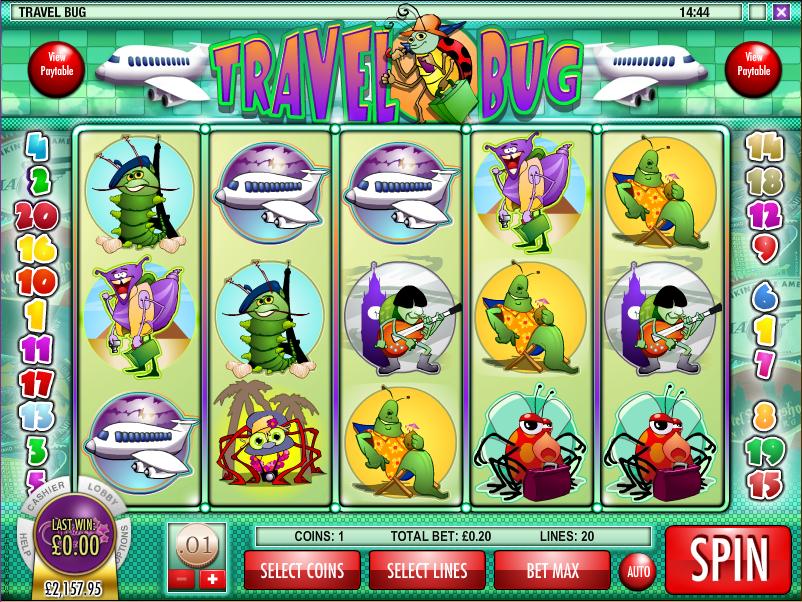 travel bug screenshot