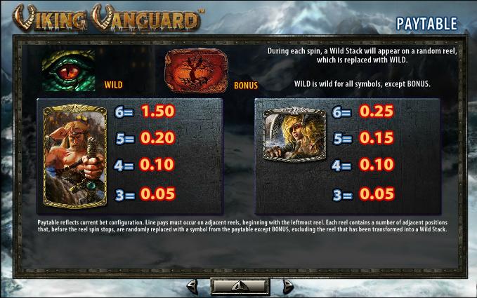 Viking Vanguard Slot Machine - Play it Free Online