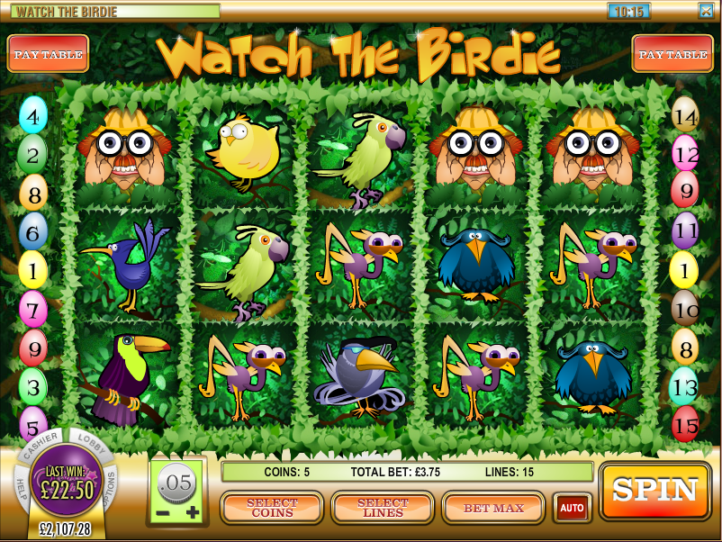 watch the birdie screenshot