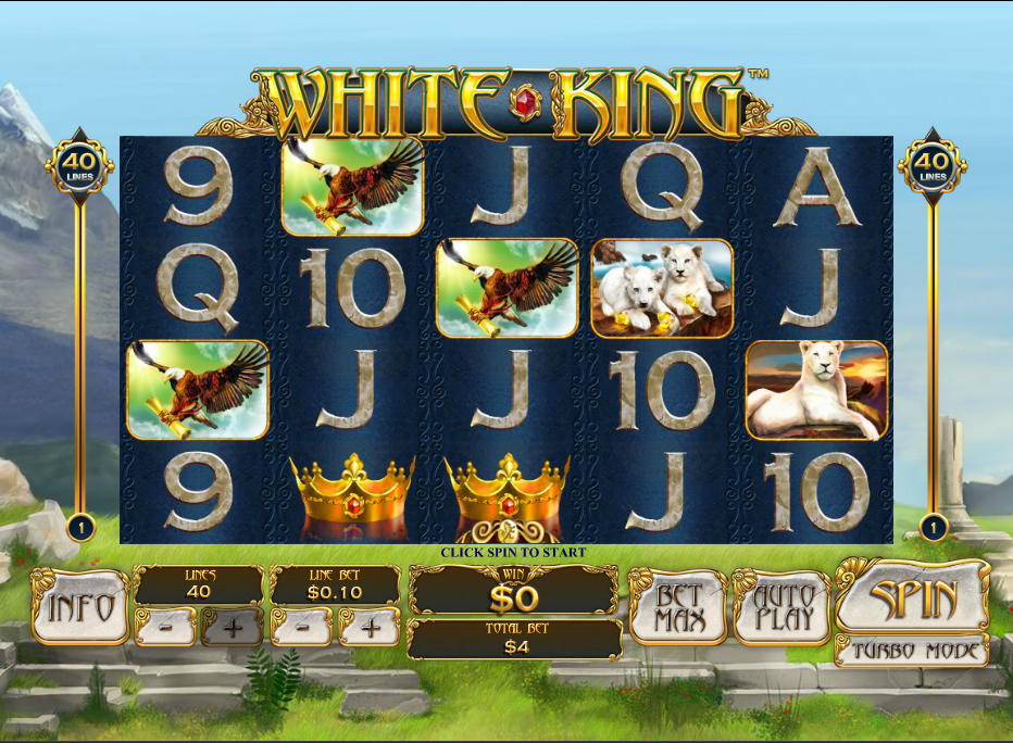 Play White King Online Slot at Casino.com UK