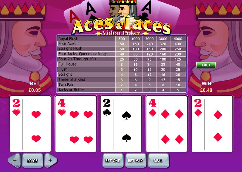 aces & faces