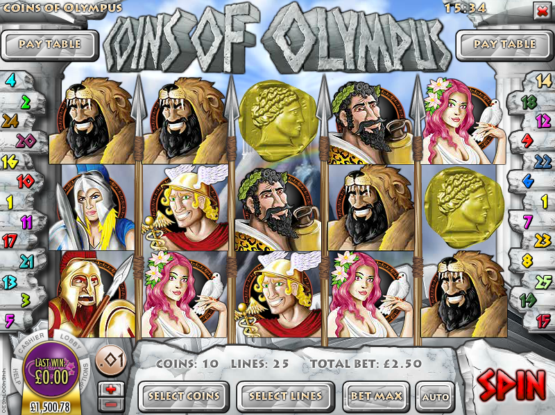 Kings coins of olympus rival casino slots forum lightning
