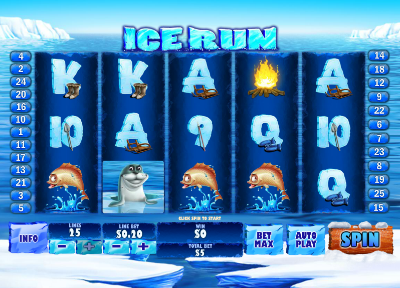 ice run screenshot