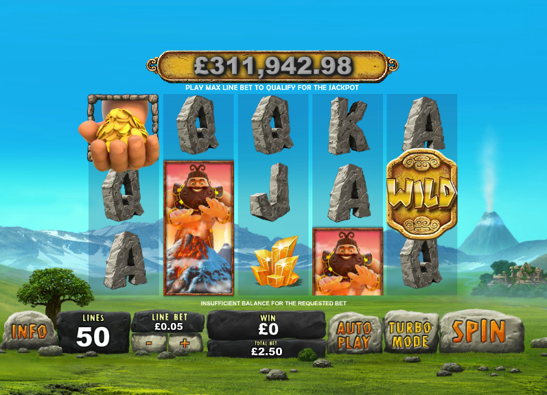 online casino volcano demo games
