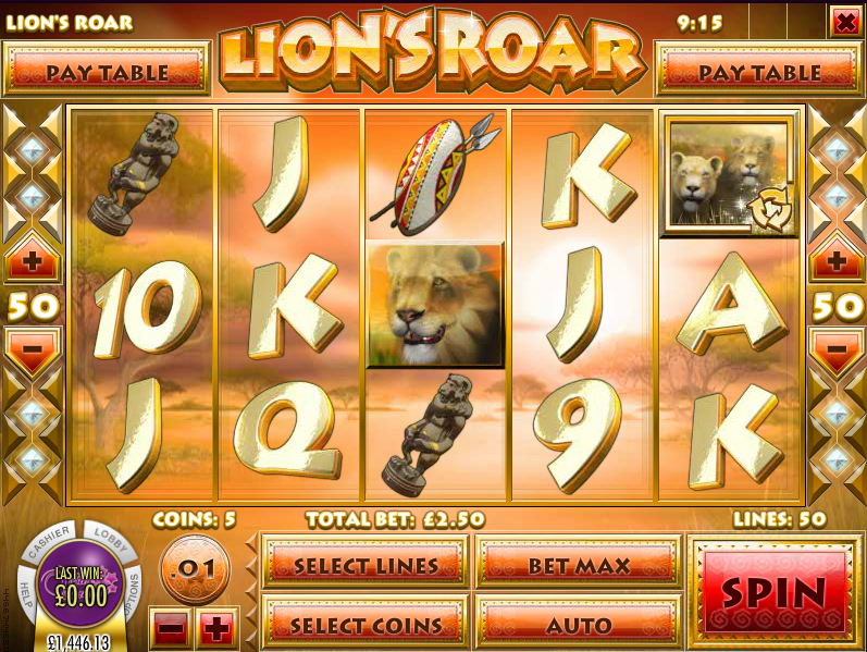 Lions Roar Slot Machine Online ᐈ Rival™ Casino Slots
