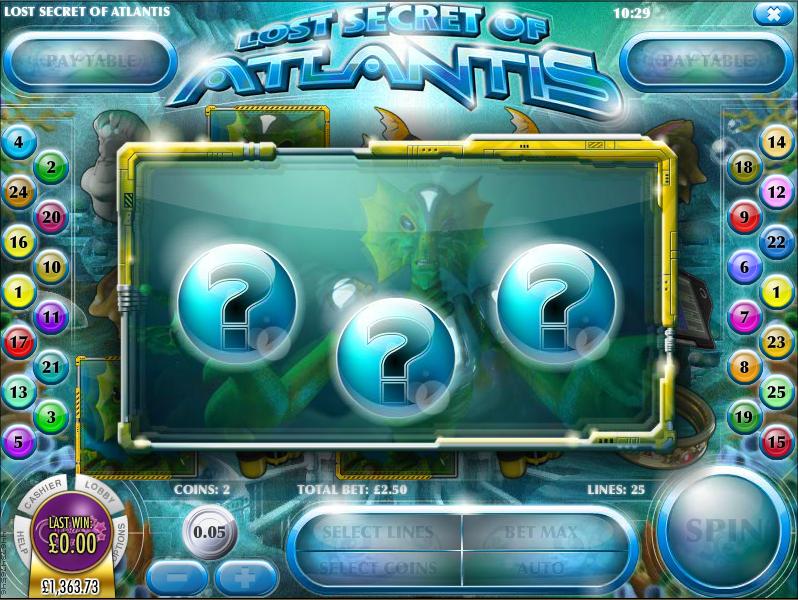 Lost Secret Of Atlantis Slot - Play for Free Online