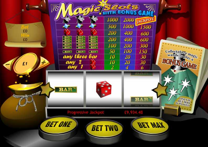 magic slots screenshot