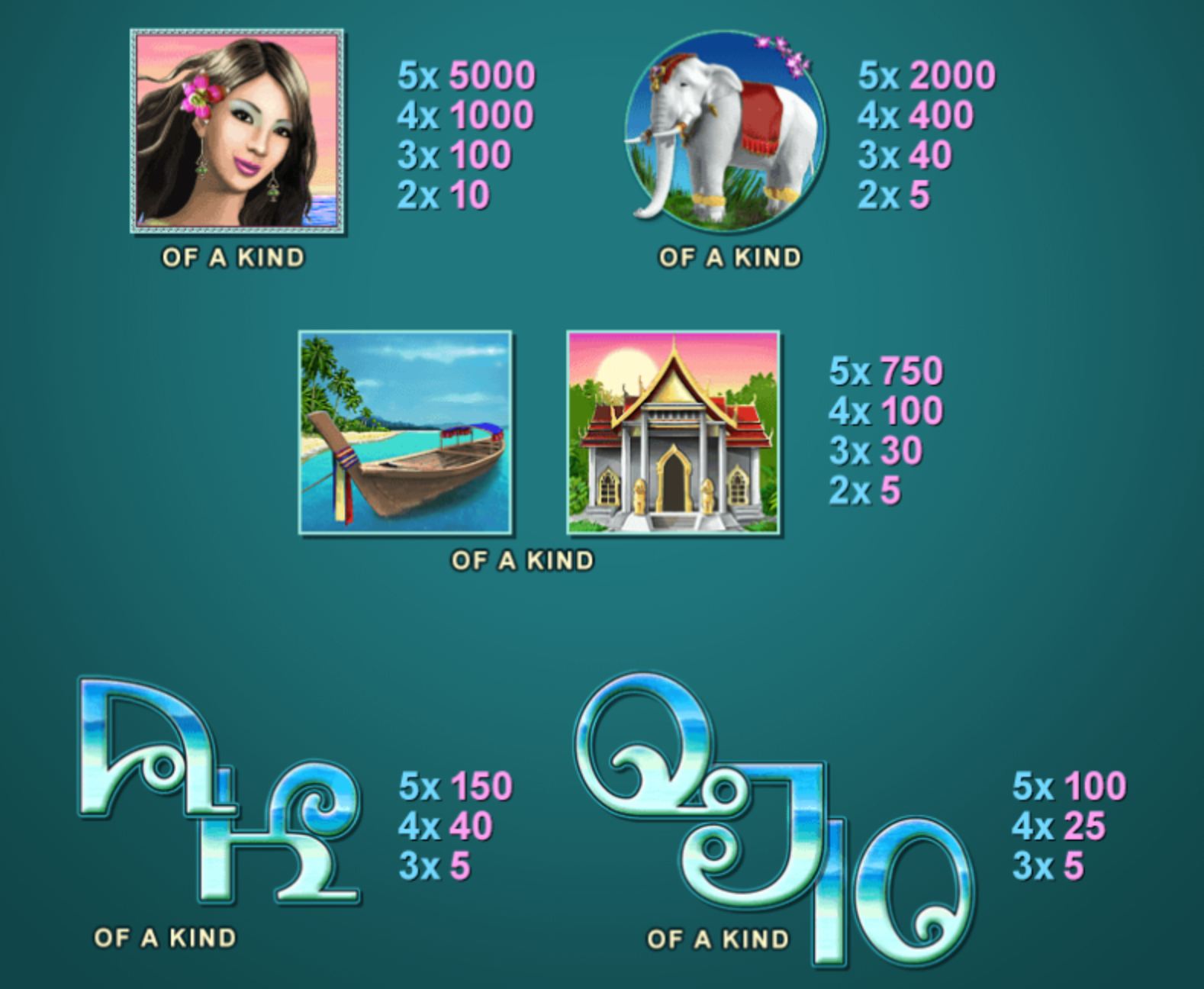 Thai Paradise Slot - Play Online Video Slots for Free