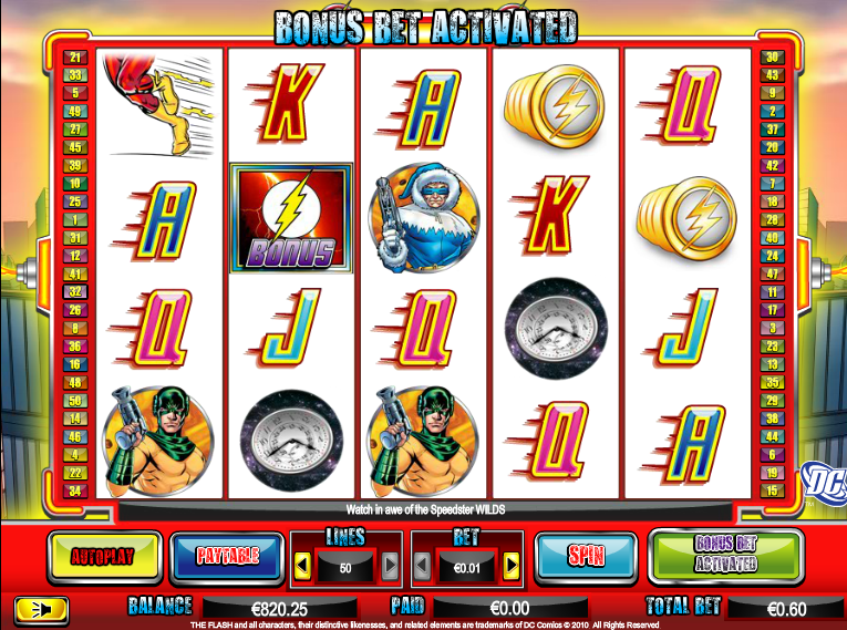 The Flash Velocity Slot - Play this Game for Free Online