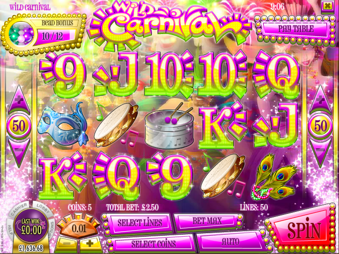 Venice Carnival Slot - Read the Review and Play for Free