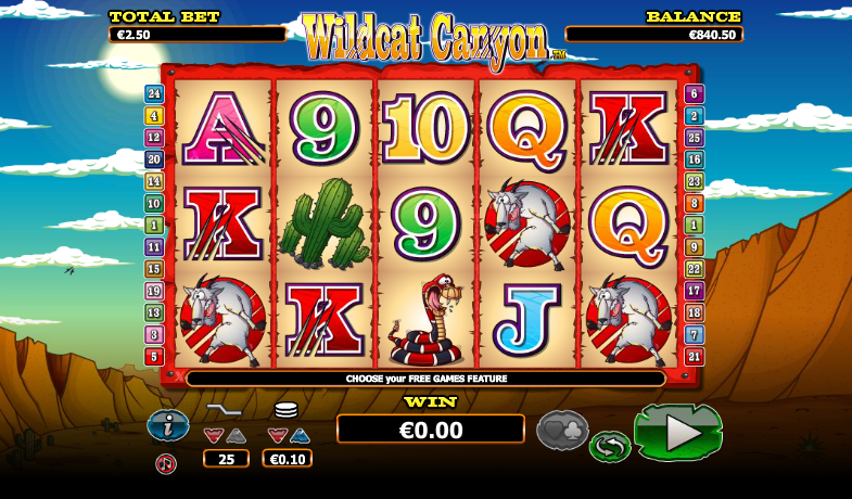 Wildcat Canyon Online Slot Machine – Play for Free on Mobile