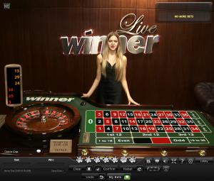 winner live roulette