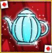 alice & the red queen teapot