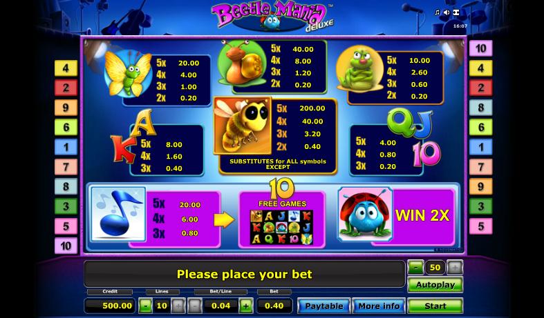 casino bet online bookofra deluxe