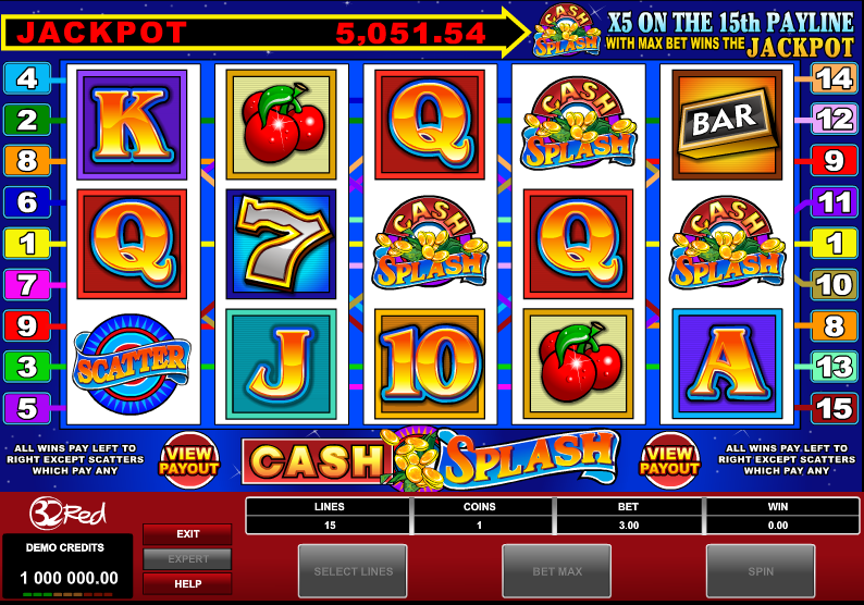cash splash slot