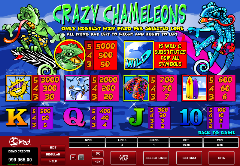 Play Crazy 7 Online Slots at Casino.com UK