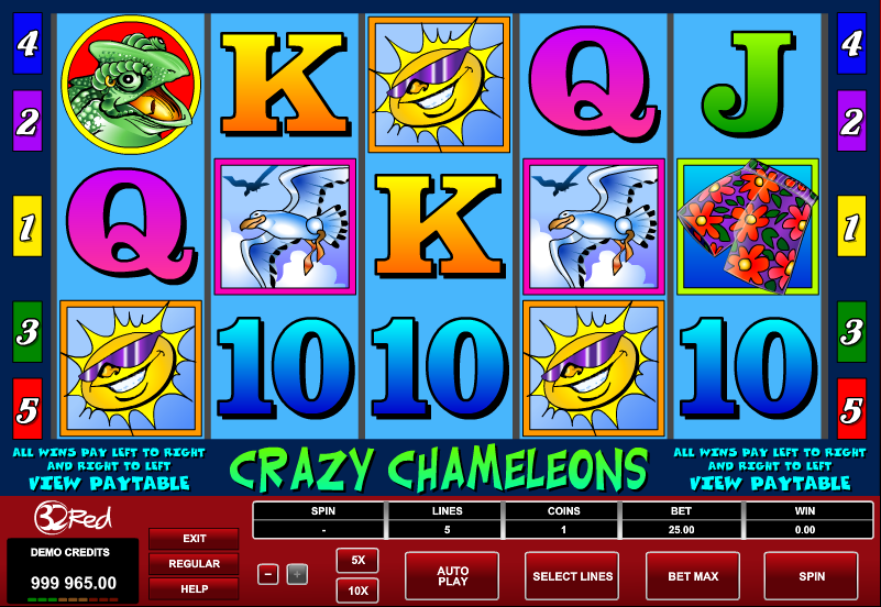 online slot games crazy slots