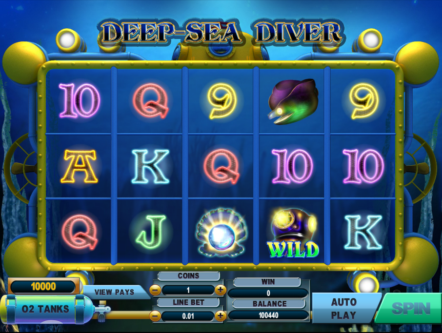 deep sea diver slot review