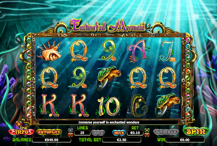 Mermaid Serenade Online Slot - Review and Free to Play Game