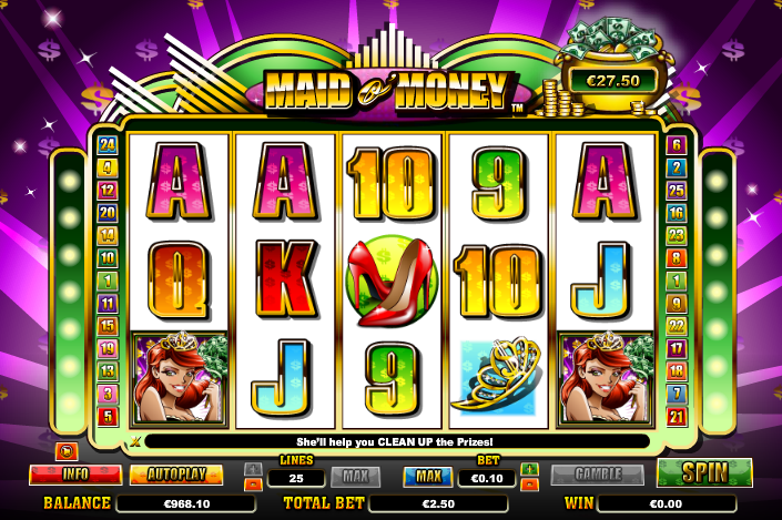 maid of money slot